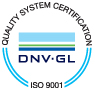 QUALITY SYSTEM CERTIFICATION DNV-GL ISO9001