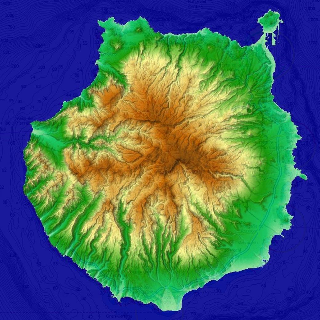 Gran Canaria Map Geo