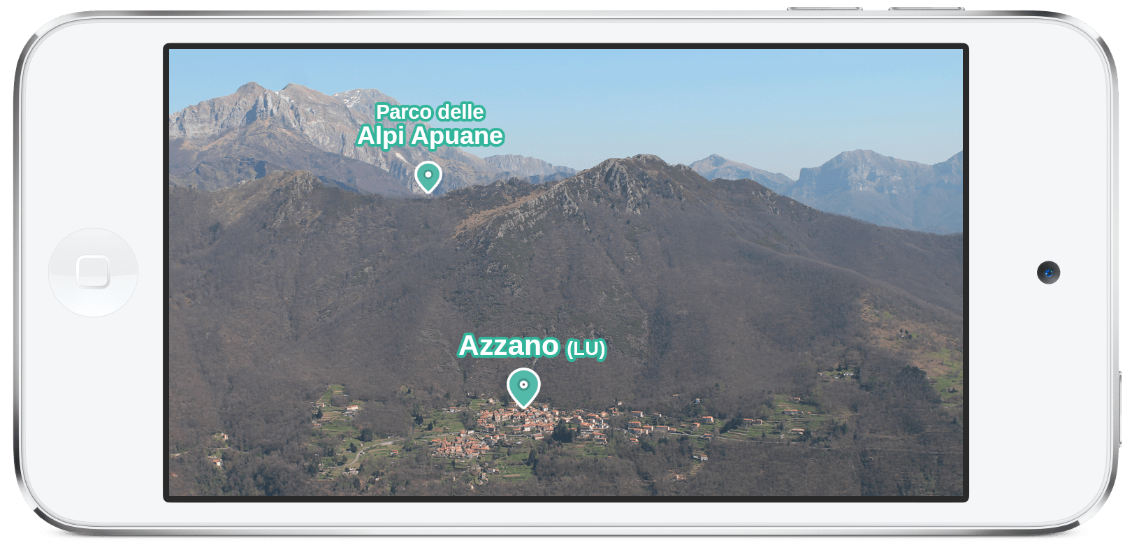 mountain Azzano (LU) Mixed Reality