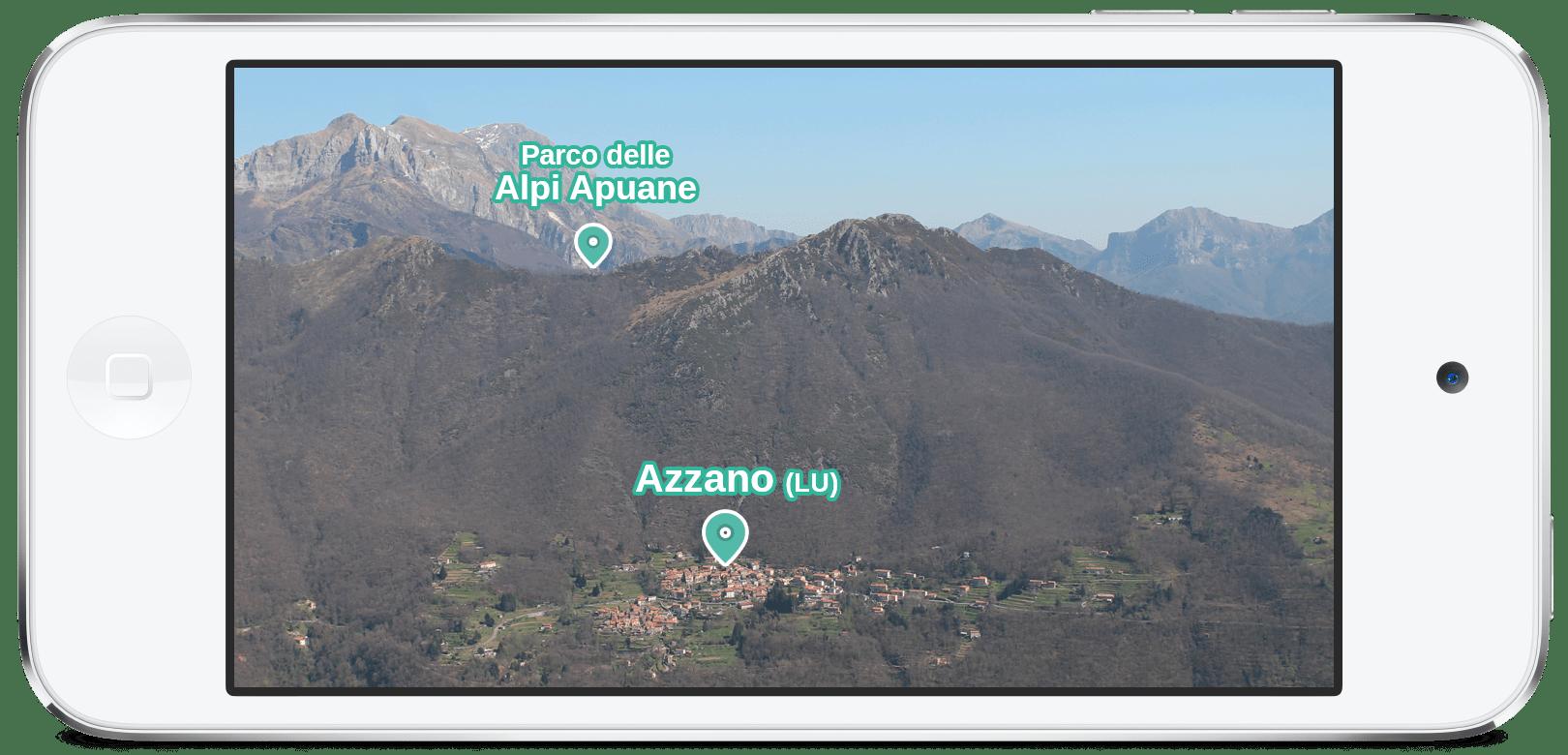 mountain Azzano (LU) Mixed Reality