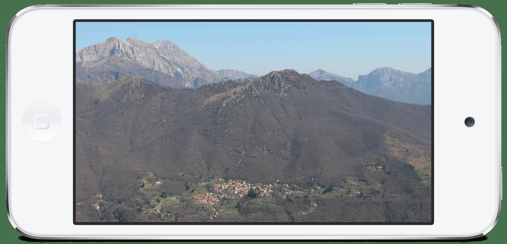 mountain Azzano (LU)